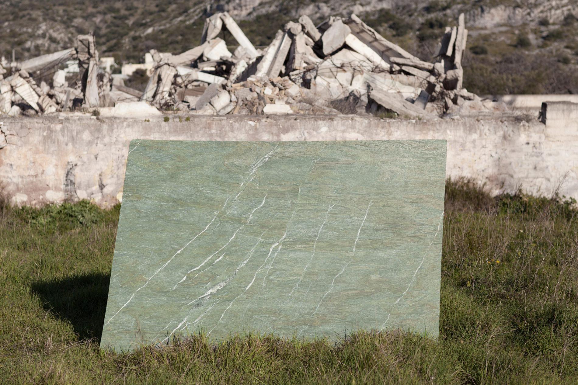 mono.rocks oasis green marble from Tino Greece